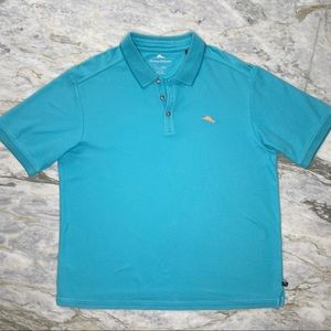 TOMMY BAHAMA Supima Cotton Blend Polo Shirt XL
